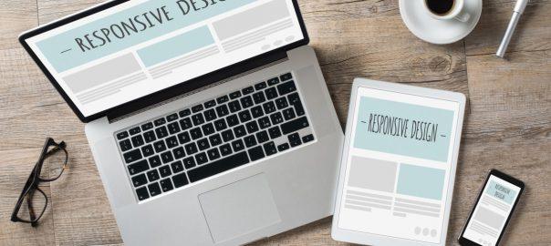 design mobil, responsive site